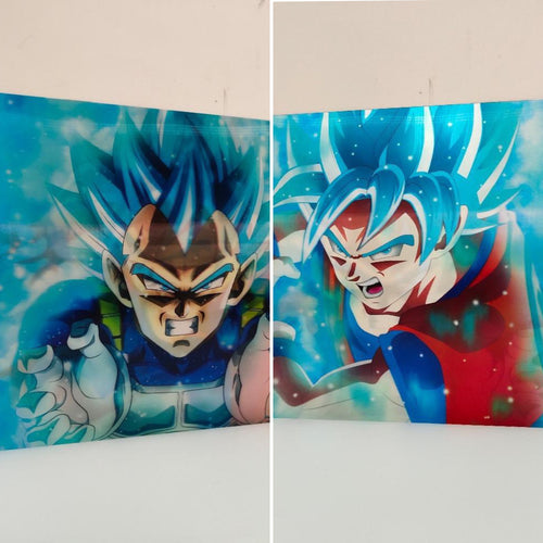 Holograme Mural Dragon Ball Super - 2 images en 1-Saiyan Spark