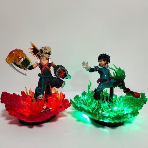 Katsuki VS Izuku Figurine LED My Hero Academia