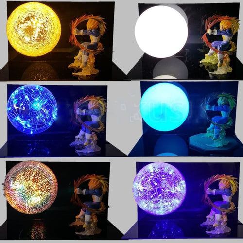 Lampe Vegeta Final Flash (boule dénergie)