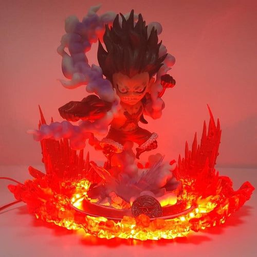 Luffy Gear 4 Snakeman - Figurine LED One Piece
