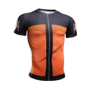Maillot À Compression Naruto (10 Designs) - picture color 8 / S