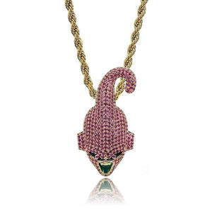 Pendentif Kid Buu 14K - Argent / Rope Chain / 20 inch / 50 cm