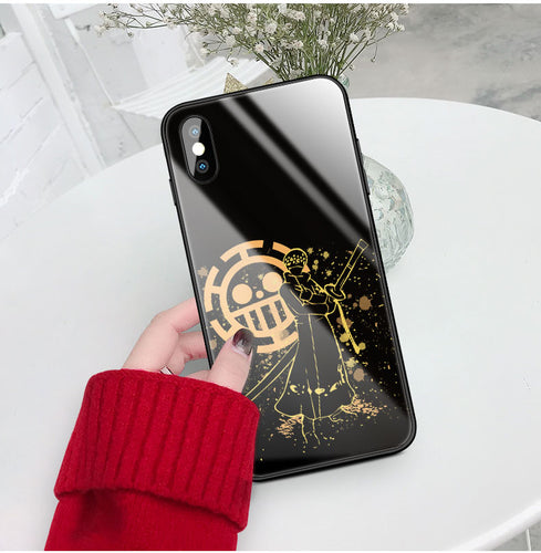 Coque One Piece iPhone Trafalgar D Water Law-Saiyan Spark