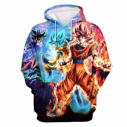 Sweat Dragon Ball Super Le Super Saiyan Devenu Ange-Saiyan Spark
