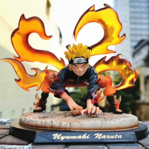 Figurine Naruto Kyubi 4 queues