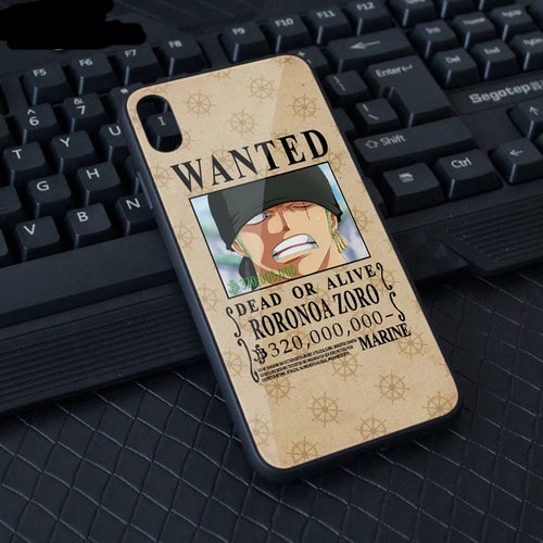 Coque One Piece iPhone Wanted (Tous les Mugiwara)