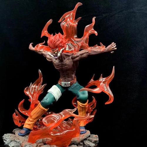 Figurine Might Guy (Maito Gai) 8 Portes - 30 cm (Attaque)-Saiyan Spark
