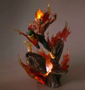 Figurine Lampe Might Guy (Maito Gai) 8 Portes - 35cm - Saiyan Spark