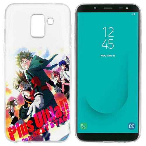 Coque My Hero Academia Samsung Plus Ultra Ensemble-Saiyan Spark