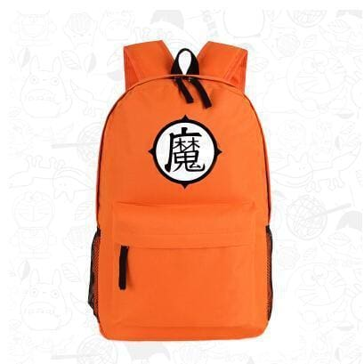 Sac - Logo Kame Go Han et Kaio (Orange) - 1