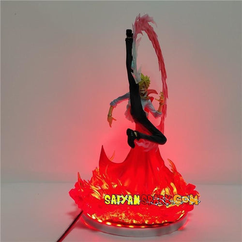 Sanji Diable Jambe (Mariage) Figurine LED - One Piece