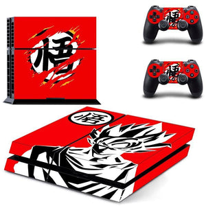 Sticker PS4 Goku - Art Rouge