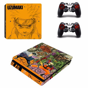 Sticker PS4 Slim (11 Designs) - Naruto