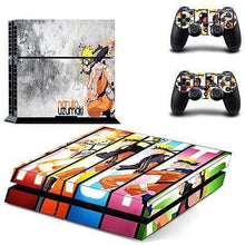 Sticker PS4 Slim (15 Designs) - Naruto - NO.11