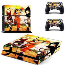 Sticker PS4 Slim (15 Designs) - Naruto - NO.4
