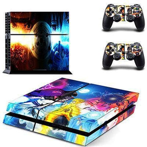 Sticker PS4 Slim (15 Designs) - Naruto - NO.5