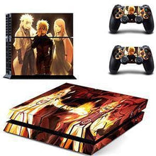 Sticker PS4 Slim (15 Designs) - Naruto - NO.7