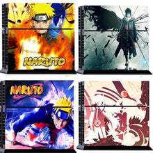 Sticker PS4 Slim (15 Designs) - Naruto