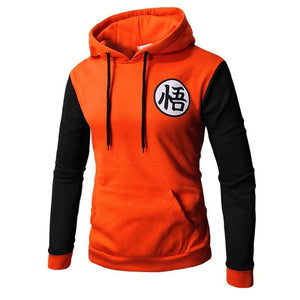 Sweat DBZ Logo Go - orange noir / M