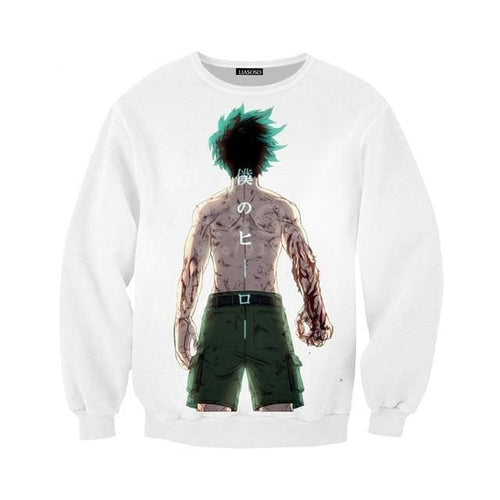 Sweat Izuku Full Power - My Hero Academia - 3 / S
