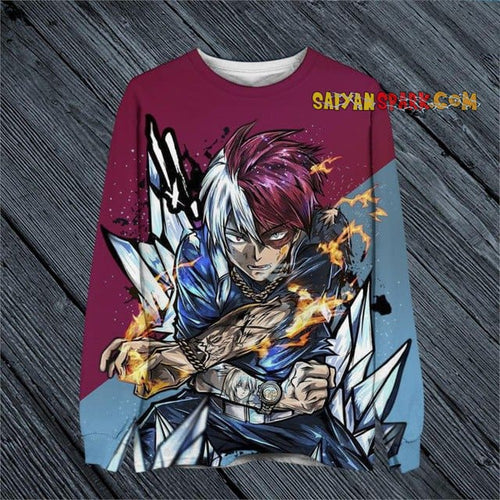 Sweat My Hero Academia Street (5 Persos) - Shoto / 4XL