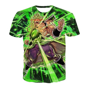 T-shirt Dragon Ball Super Broly (5 Designs) - B / S (JPN)