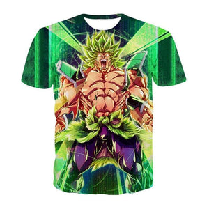 T-shirt Dragon Ball Super Broly (5 Designs) - C / S (JPN)