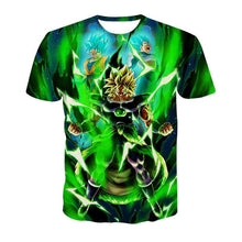 T-shirt Dragon Ball Super Broly (5 Designs) - D / S (JPN)