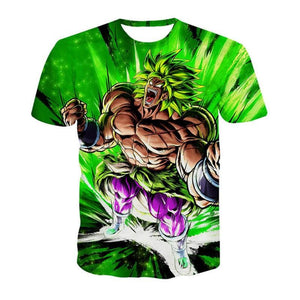 T-shirt Dragon Ball Super Broly (5 Designs) - E / S (JPN)