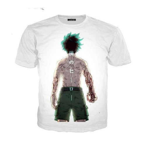 T-Shirt My Hero Academia Izuku Full Power - 1 / S