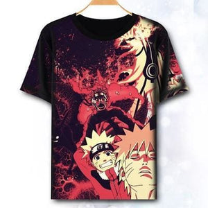 T-Shirt Naruto Evolution - S