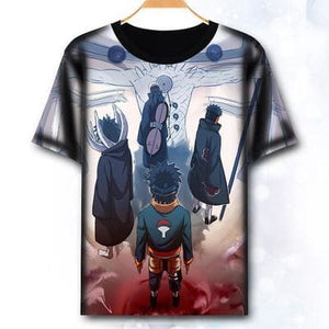 T-Shirt Naruto Obito Evolution - S