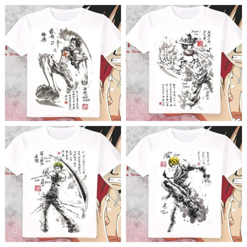 T-Shirt One Piece Art (12 Persos)