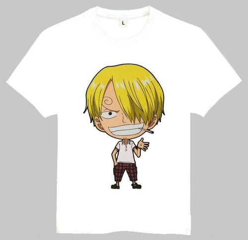 T-Shirt One Piece Chibi Sanji - T-Shirt / S