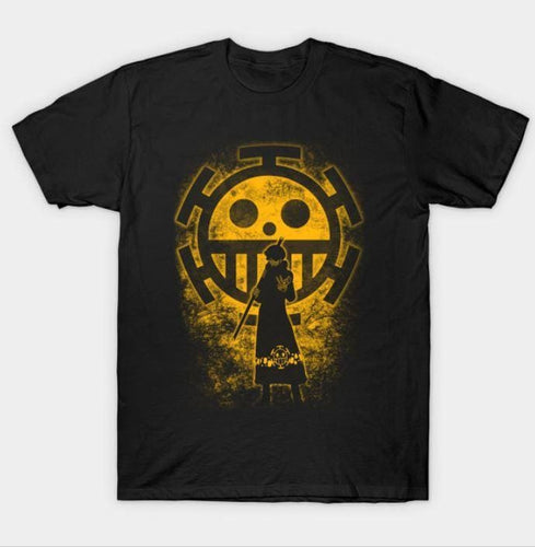 T-Shirt One Piece Law - Noir / XS