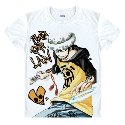 T-Shirt One Piece Law Room - T-Shirt / S
