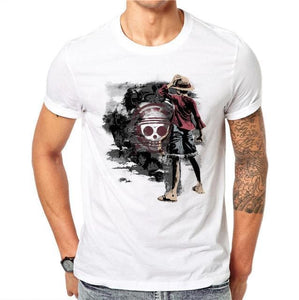 T-Shirt One Piece Luffy Emblème Mugiwara - T-Shirt / L