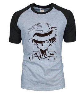 T-Shirt One Piece Luffy - Gris / S
