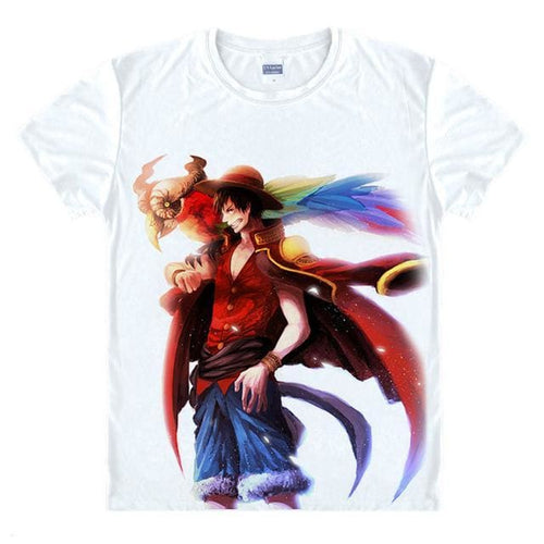 T-Shirt One Piece Luffy Le Capitaine - T-Shirt / S