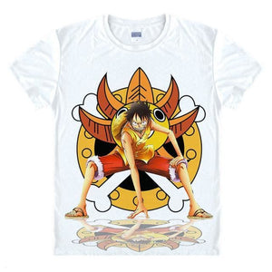 T-Shirt One Piece Luffy Merry Go - T-Shirt / S