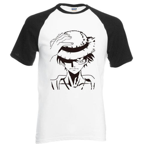 T-Shirt One Piece Luffy - Noir / S
