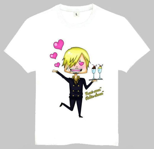 T-Shirt One Piece Sanji Nami Chwan - T-Shirt / S