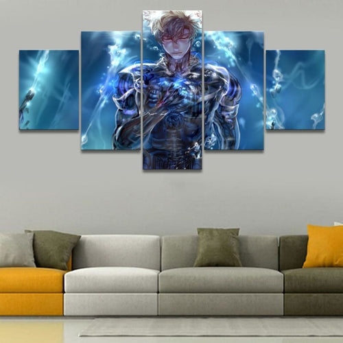 Toile 5 pièces - Genos One Punch Man