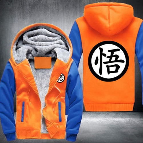Veste Dragon Ball Z Goku Logo Go (Orange)