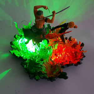 Zoro Et Sanji Figurine LED - One Piece