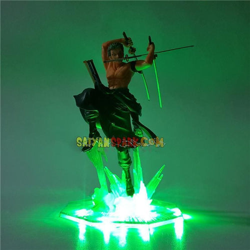 Zoro Santoryu Figurine LED - One Piece