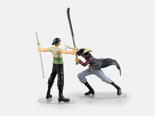 Zoro Vs Mihawk Figurine - One Piece - Saiyan Spark