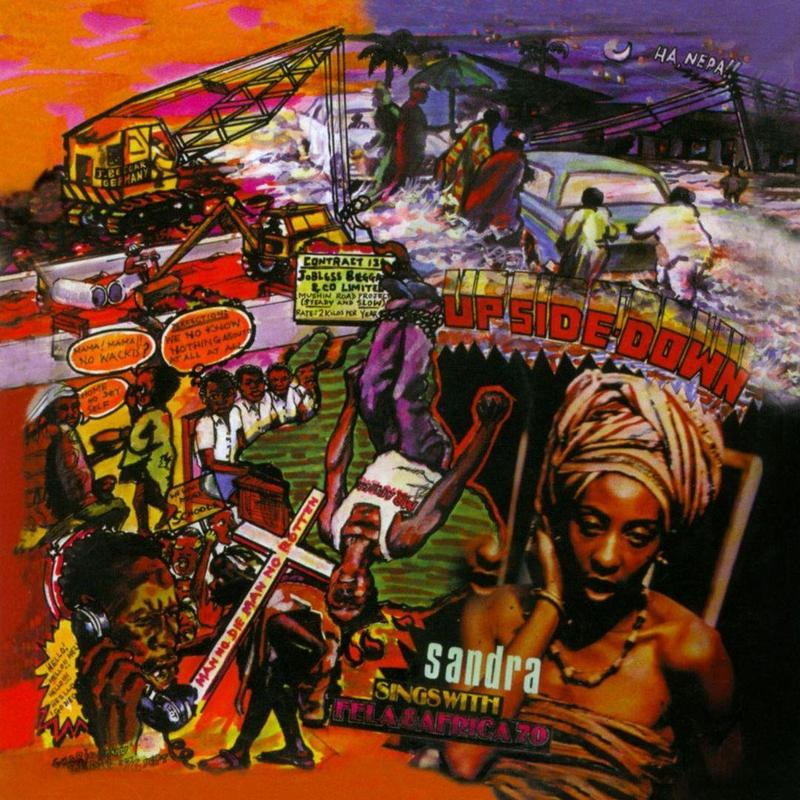FELA KUTI - UPSIDE DOWN / MUSIC OF MANY COLOURS