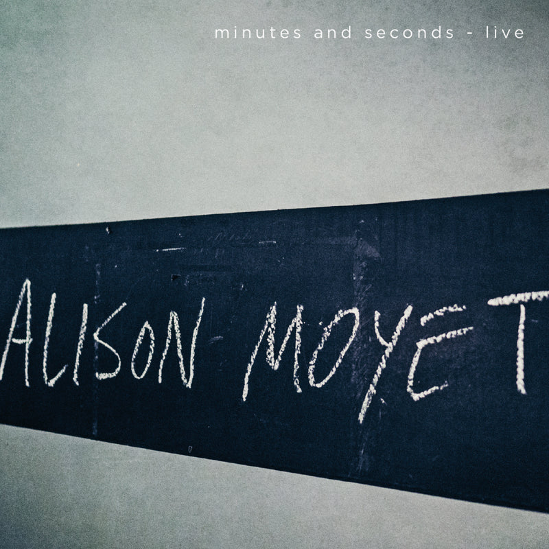 ALISON MOYET - MINUTES & SECONDS (LIVE)