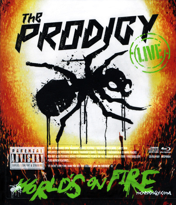 THE PRODIGY - LIVE - WORLD'S ON FIRE
